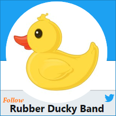 Click here to view The Rubber Ducky Band's Twitter page