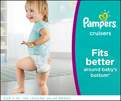 Click here to view Pampers website